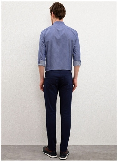 U.S. Polo Assn. U.S. Polo Assn. Slim Fit Erkek Pantolon Lacivert